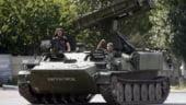Drona OSCE doborata in Ucraina a apucat sa-si fotografieze agresorul: un lansator de rachete rusesc