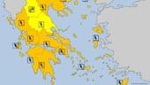 Atentie, daca plecati in Grecia: este cod portocaliu de vreme rea, se asteapta furtuni si vant puternic