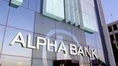 Un card de credit MasterCard de la Alpha Bank