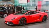 Lamborghini Gallardo, promovat prin imagini de pe Transfagarasan