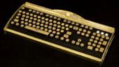 Tastatura de lux, in stilul steampunk