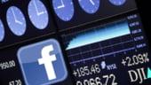 Facebook, la BVB. Actiunile au crescut cu 2,56% la primele tranzactii