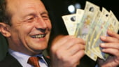 Bloomberg: Leul s-a intarit dupa revenirea in functie a presedintelui Traian Basescu