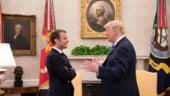 """UE ameninta SUA cu masuri dure de retorsiune. Macron: """"Razboaiele comerciale"""" pot deveni """"razboaie"""""""
