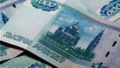 Rusia vinde valuta pentru a opri deprecierea rublei