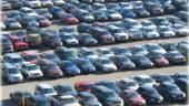 Vanzarile de autoturisme noi, la jumatate in primele opt luni