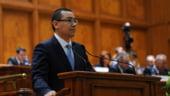Ponta a prezentat concluziile summitului UE, intr-un context incendiar la Parlament
