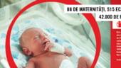 Salvati Copiii avertizeaza ca situatia din maternitatile romanesti e critica: Statul a facut dotari acum 10 ani
