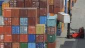 Deficitul comercial al Romaniei, in crestere in 2012