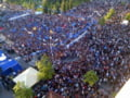10.000 de oameni au protestat fata de Guvern in Albania, intr-o manifestatie inspirata de Romania