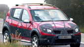 Dacia Sandero SUV - poza spion venita din Cehia