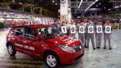 Dacia a produs modelul Sandero cu numarul 100.000