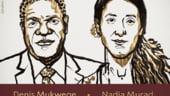 Nobelul pentru Pace, acordat unei supravietuitoare a Statului Islamic si unui medic congolez: Violenta sexuala e arma de razboi