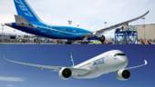 Airbus si Boeing se bat la Salonul de la Paris pentru primul loc pe piata aeronautica
