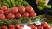 Fermieri bulgari protesteaza impotriva pretului mic al legumelor din Romania