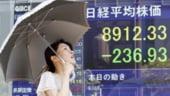 Bursele asiatice scad, din cauza ingrijorarilor fata de criza din Europa
