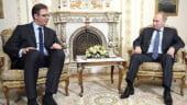 Pasi mici: Serbia ar vrea in NATO, dar sta cu ochii spre Moscova