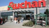 Valoarea medie a cosului de cumparaturi in reteaua magazinelor Auchan a scazut cu 5%