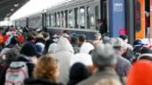 CFR Calatori: Grad de ocupare a trenurilor de peste 95%, consemnat duminica