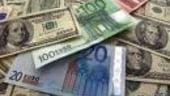 Depreciere puternica a leului pe finalul sedintei de vineri, cursul a urcat la 3,92 lei/euro
