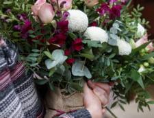 eticheta flori business