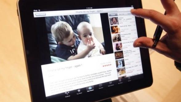iPad, cel mai dorit gadget de Craciun