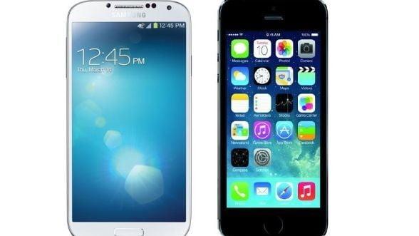 iPhone 5S, varful de gama al Apple. Si totusi, Samsung Galaxy S 4 ... VIDEO