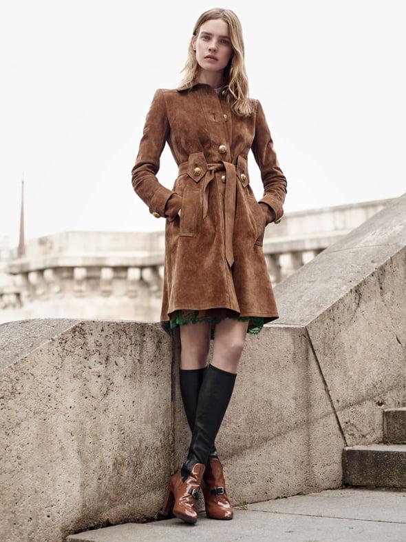 piele antilopa Vogue moda 2015 Ce se poarta in 2015! Cerceii neasortati, platformele si dantela revin la moda!